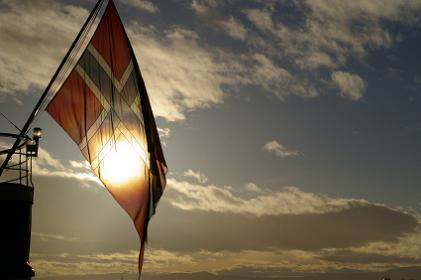 Flagging på sjøen